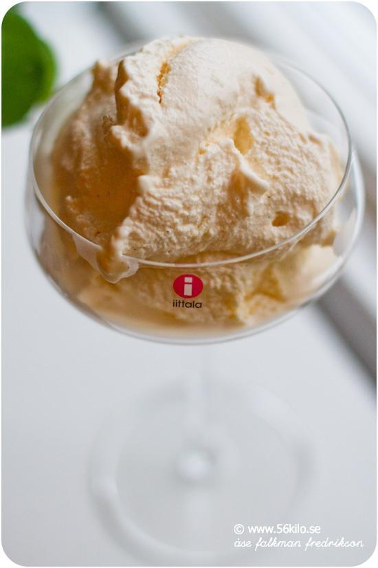 göra glass utan glassmaskin