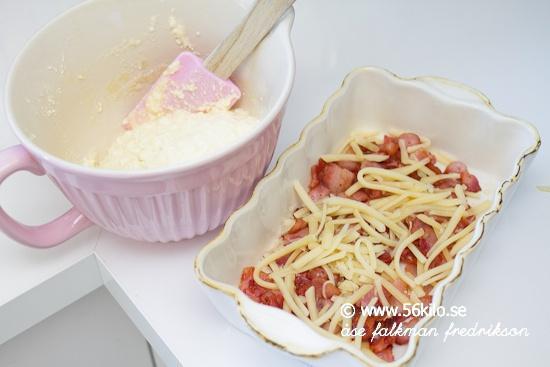 ugnspannkaka lchf utan bacon