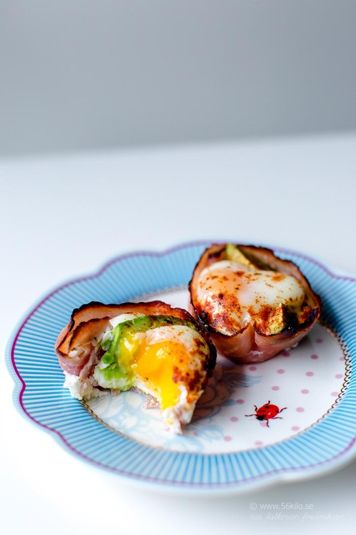 ägg i ugn