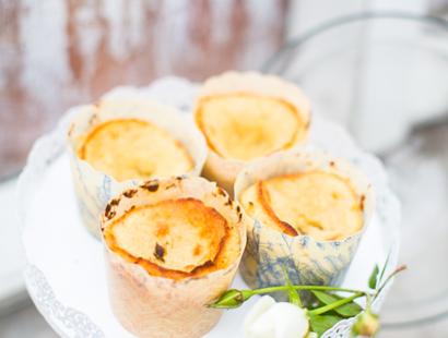 Kladdiga Citronmuffins LCHF, Glutenfria, Low Carb