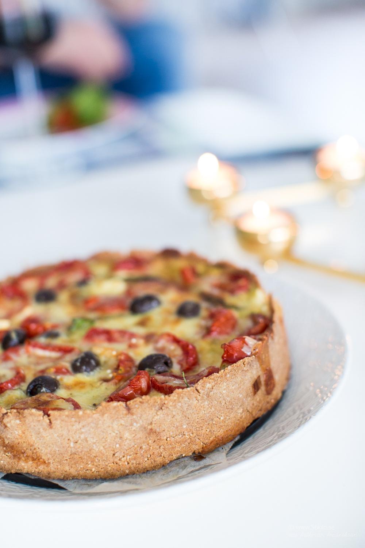 glutenfri vegetarisk paj