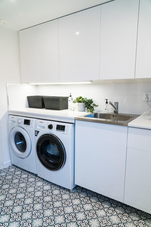 inredning skåp tvättstuga