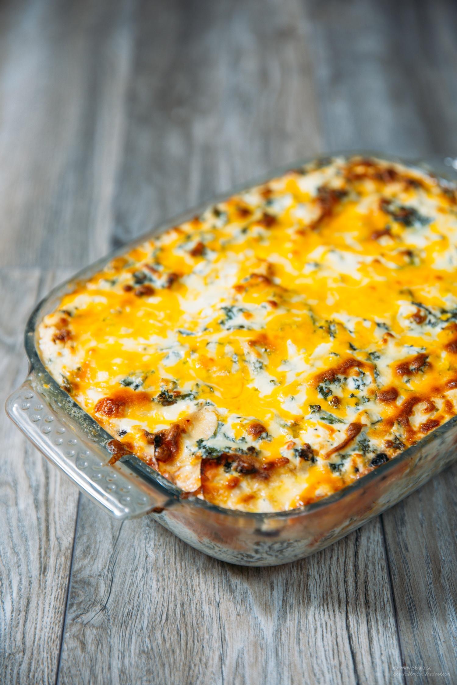 lchf lasagne 56kilo