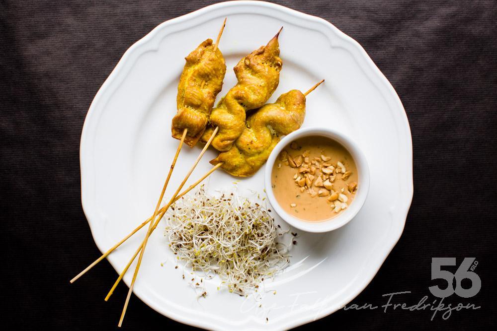godaste kyckling satay