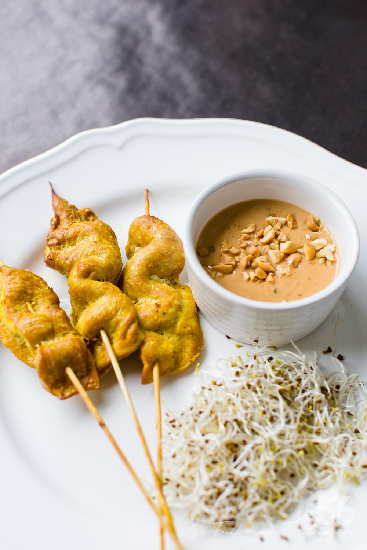 kyckling satay recept