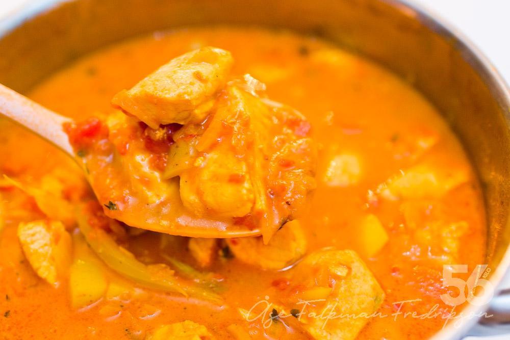 fisksoppa tomat fänkål